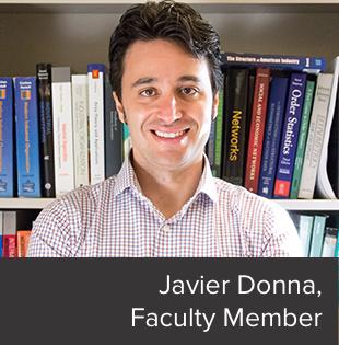 Javier Donna, Faculty Member