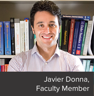 Javier Donna, Faculty Member